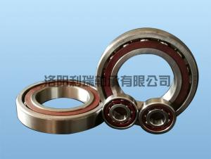 High precision and high speed angular contact ball bearing